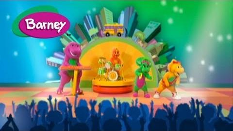 Barney- Wheels On The Bus