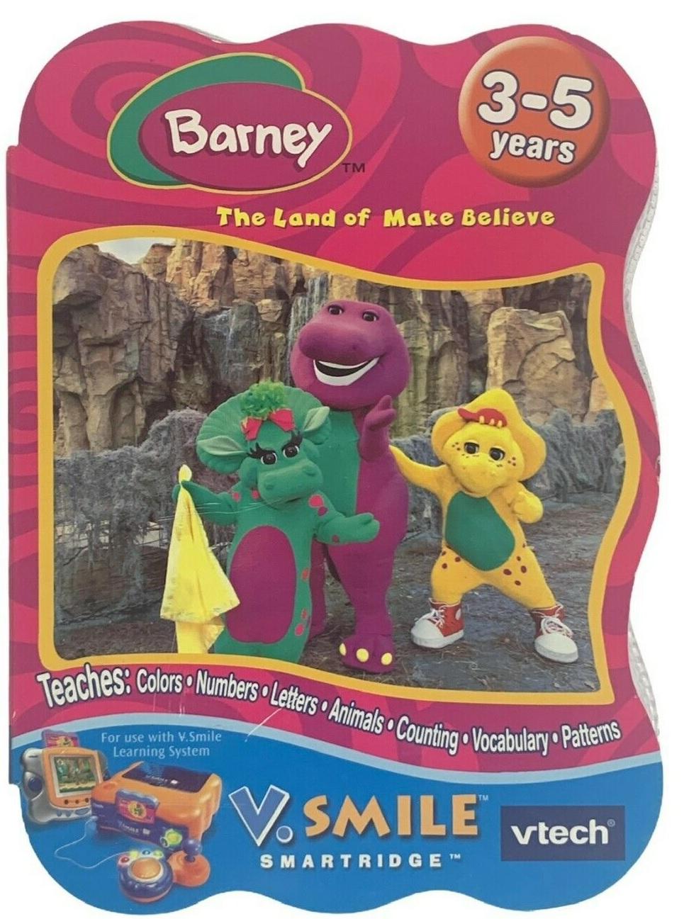 VSMILE Barney-LandOfMakeBelieveboxart 160w