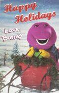 Happy Holidays Love Barney Cassette
