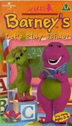 Barney's Let's Play School UK VHS Cover (2000)