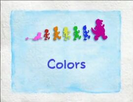 Barney Title Card - Colors