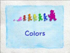 Barney Title Card - Colors