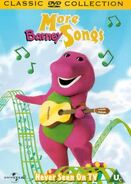 More Barney Songs 2000 UK DVD