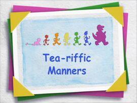 Tea-riffic Manners