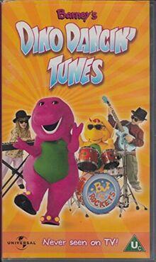Barney's Dino Dancin' Tunes 2001 UK VHS