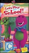 Let's Play School VHS Cover (1999)