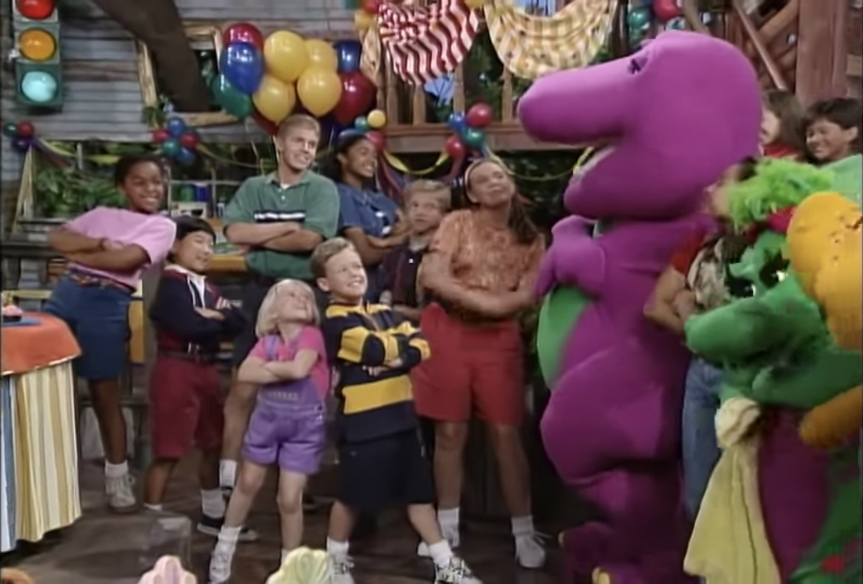 You Can Count On Me Barney Wiki Fandom Powered By Wikia