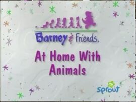 At Home With Animals Title Card