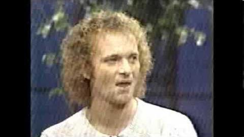 Tony Geary on Soap World - December 1982