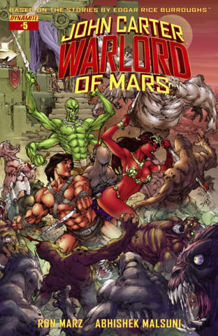 File:John Carter Warlord of Mars (Dynamite) 5 cover.png