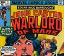 Warlord of Mars (Marvel) : Issue 5