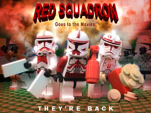 Red Squadron Poster