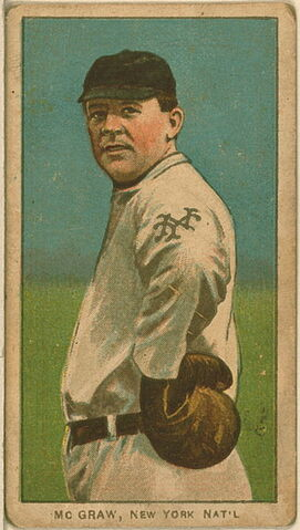 File:John McGraw Baseball Card.jpg
