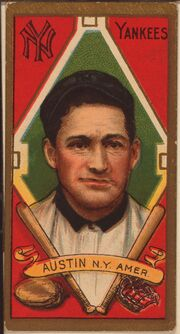 Jimmy Austin baseball card