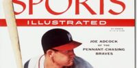Joe Adcock/Magazine covers
