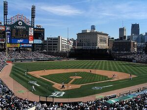 Tigers opening day2 2007