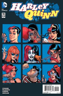 Harley Quinn Vol 2-19 Cover-1