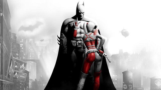 File:Batman-Arkham City Batman-Harley.jpg