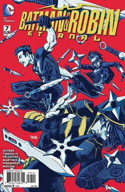 Batman and Robin Eternal Vol 1-7 Cover-1