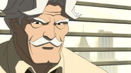 Commissioner Gordon in Batman-The Dark Knight Returns Part 1