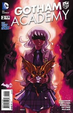Gotham Academy Vol 1-2 Cover-1