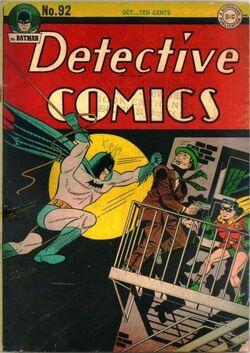 Detective Comics Vol 1-92 Cover-1