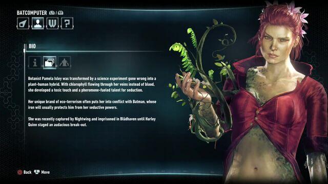 File:Batman Arkham Knight Character Bios Poison Ivy.jpg