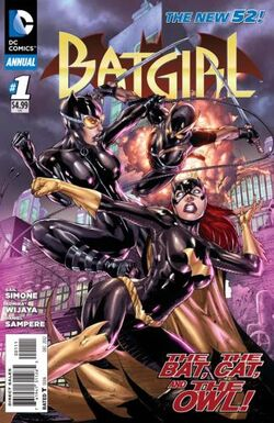 Batgirl Annual Vol 4-1 Cover-1