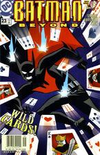 Batman Beyond v2 23 Cover