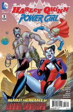 Harley Quinn Power Girl Vol 1-3 Cover-1