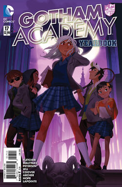 Gotham Academy Vol 1-17 Cover-1