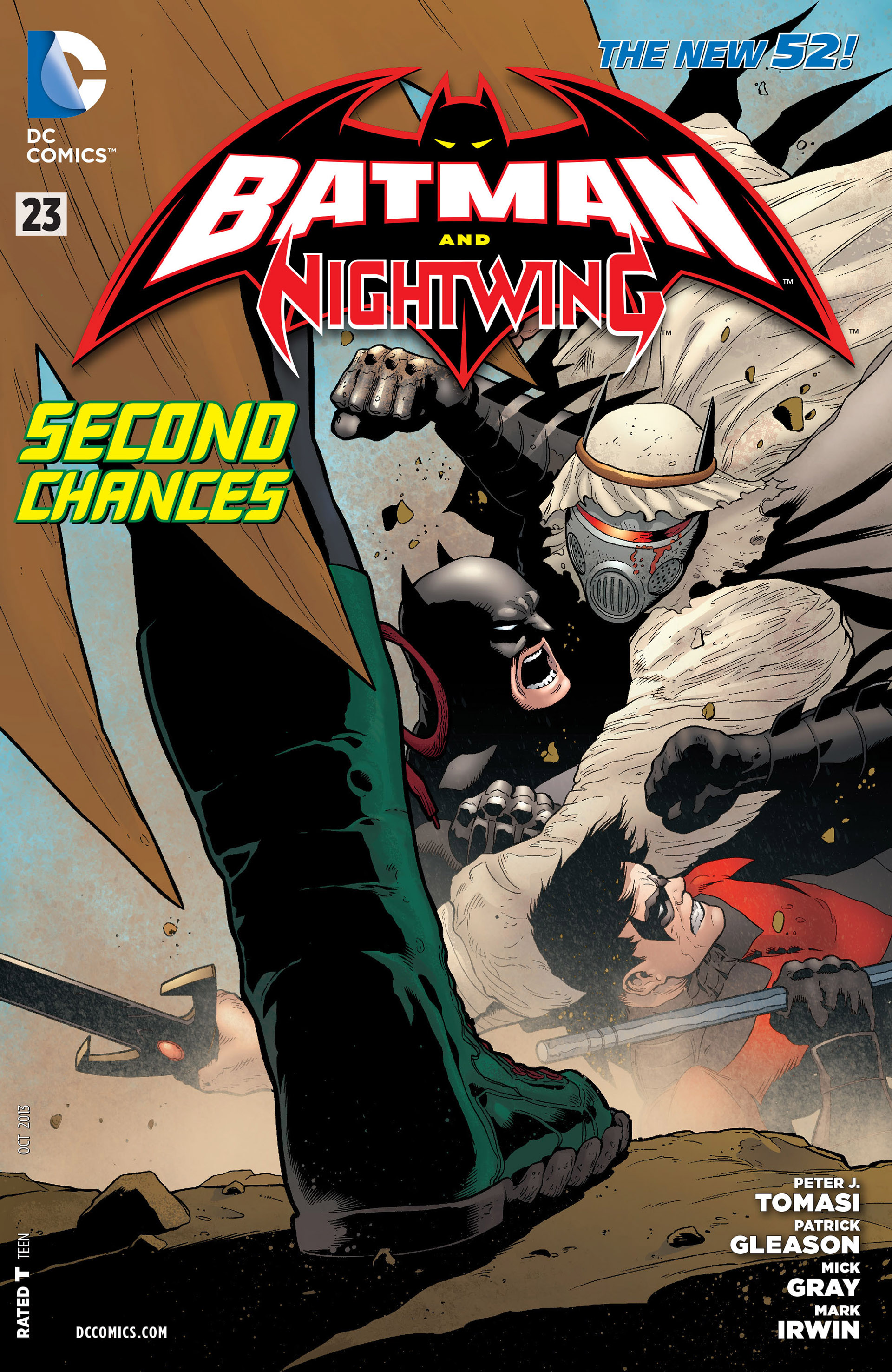 Batman and Robin (Volume 2) Issue 23 | Batman Wiki ... Nightwing And Red Robin