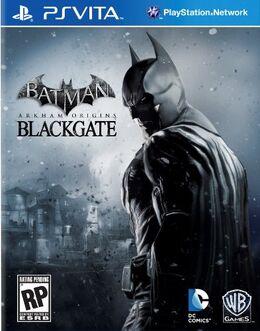 Psvita BatmanAO blackgate