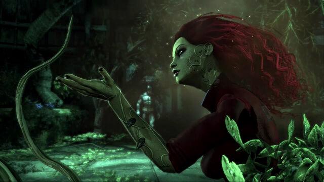 File:Batman-Arkham-Asylum greets Ivy.jpg