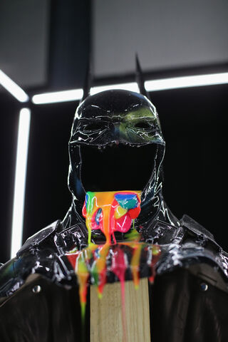 File:SDCC2014-Batman-Cape-Cowl create Art Exhibit 452636014.jpg