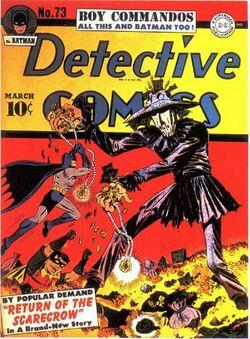 Detective Comics Vol 1-73 Cover-1