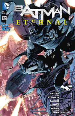 Batman Eternal Vol 1-12 Cover-1