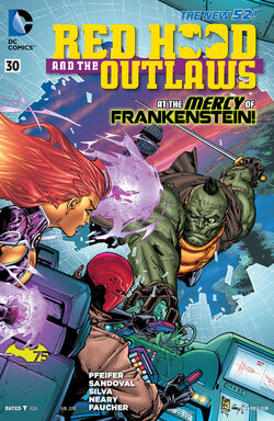 Red Hood and The Outlaws Vol 1-30 Cover-1