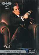 Batman Forever - Two-Face trading card 2