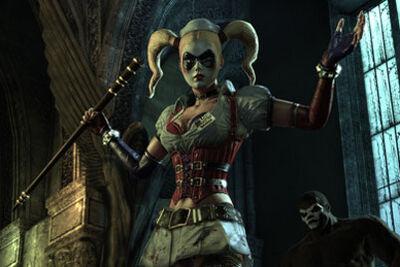 Harley Quinn Batman Arkham Asylum Batman Wiki