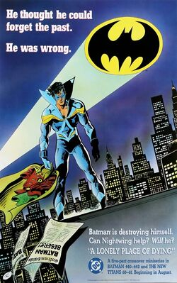 Batman A Lonely Place of Dying