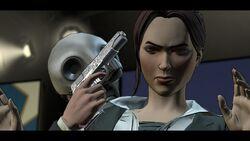 Vicki as a hostage
