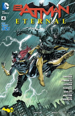 Batman Eternal Vol 1-4 Cover-1