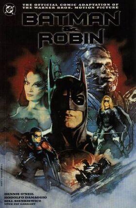 Batman and Robin Comic Book Cover