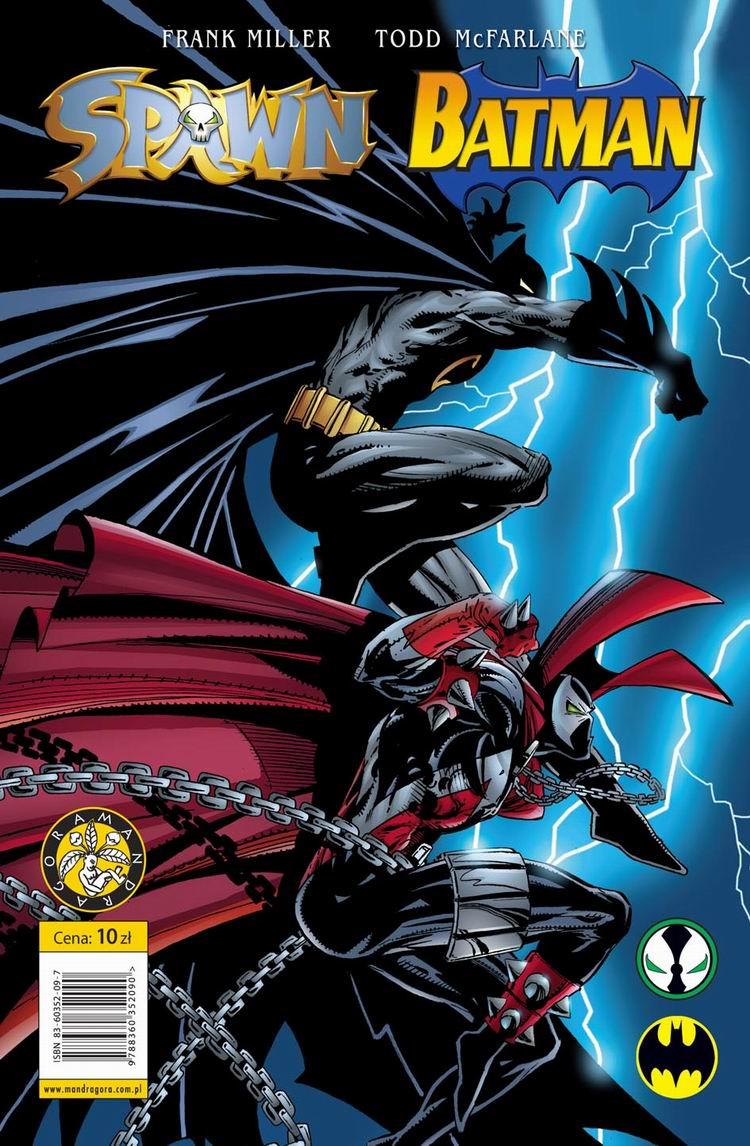 Image result for Batman vs Spawn cover