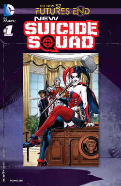 New Suicide Squad Vol 1 Futures End-1 Cover-1