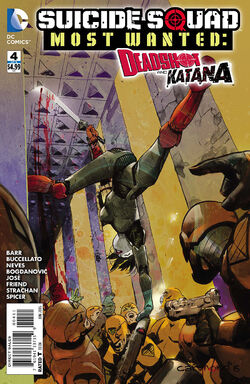 Suicide Squad Most Wanted Deadshot Katana Vol 1-4 Cover-1