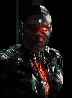 Justice League - Cyborg (infobox)