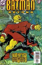 Batman Beyond v2 14 Cover