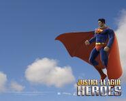 Justice League heroes Superman